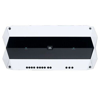 Pyle PLMRMBT5S Marine Boat 600 Watt Bluetooth 2-Channel Amplifier Amp (Silver)