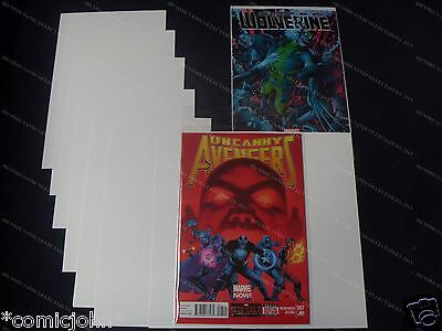 SIZE B. 100 x COMIC BACKING BOARDS - CURRENT - MODERN U.S. COMIC SIZE
