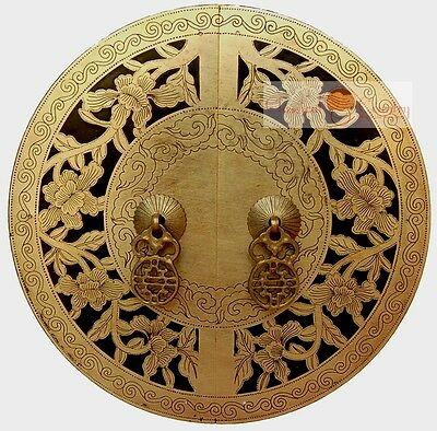 Chinese Brass Hardware Cabinet Face Handle 9.5''