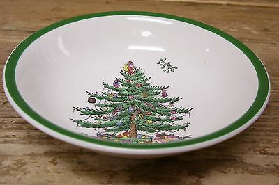 Spode Christmas Tree Coupe Soup Cereal Bowl 48 England S3324
