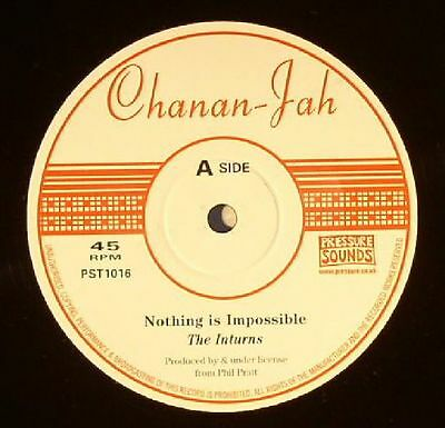 """INTURNS, The - Nothing Is Impossible - Vinyl (10"""" in hand-stamped sleeve)"""