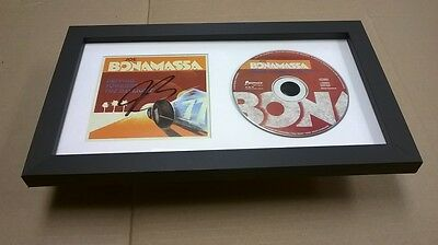 JOE BONAMASSA Blues SIGNED + FRAMED Driving Towards the Daylight CD Album