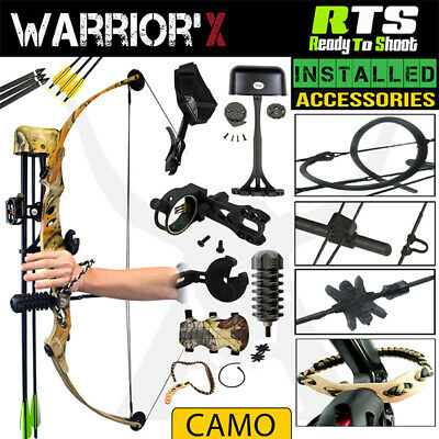 RTS WARRIOR'X 60 Lbs Compound Bow Kit Archery Bow Hunting