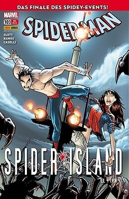 SPIDER-MAN #103 (deutsch) SPIDER-ISLAND                               + TOP +