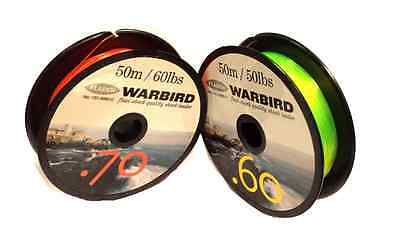 Mono Shock Leader Sea Fishing Line Ideal For Multiplier Reels / Beachcaster Rods