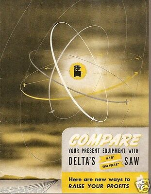 Tool Brochure - Delta - Multiplex - Double Radial Action Saw - 1950 (TL05)