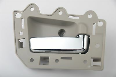 Beige & Chrome fits Grand Cherokee 05-10 Inside Interior Door Handle Front Right