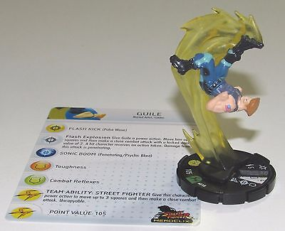 GUILE #018 #18 Street Fighter Heroclix