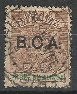 British Central Africa 1891 Arms 3/- Used