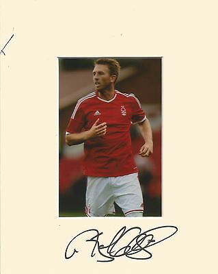 10 x 8 inch mount personally signed by Danny Collins Nottingham Forest 14.02.15