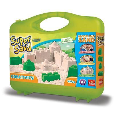 Goliath Super Sand Creativity Koffer 450g Spielsand