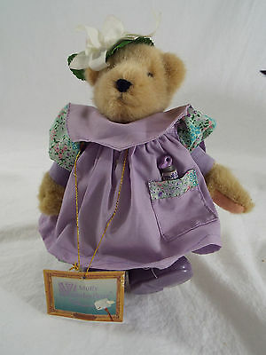 """Muffy VanderBear Collectible Teddy Clawed Monet / Gilbearny Collection 9"""" 1989"""