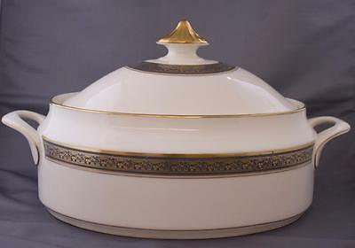 Vintage Minton Embassy Oval Covered Vegetable Dish Tureen Royal Doulton