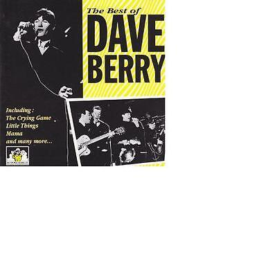 Dave Berry (The Cruisers) - The Best Of Dave Berry / See For Miles CD 1993 RAR!