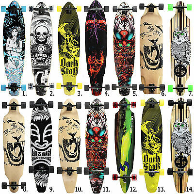 Longboard Long Board Skateboard Surfboard komplett Flex Longboards medium high