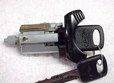NOS Ignition Switch Lock Cylinder With Keys Mustang Cobra GT LX 94 95