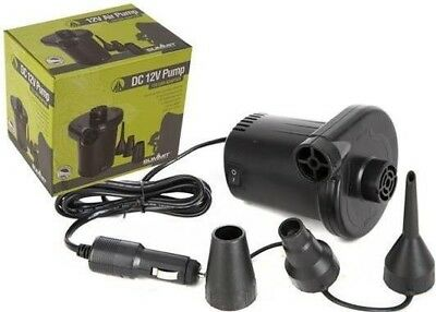 Summit Air Pump 12V + 3 Adaptors