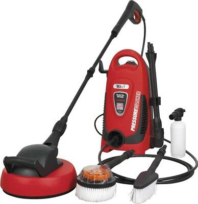 Sealey Pressure Washer 110 Bar TSS & Rotablast Nozzle 230 Volt with Kit PW1600