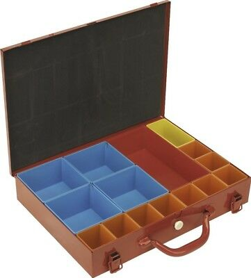 Sealey Metal Case with 15 Storage Bins