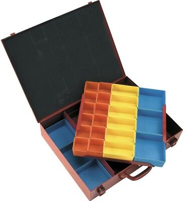 Sealey Metal Case 2 Layer with 27 Storage Bins