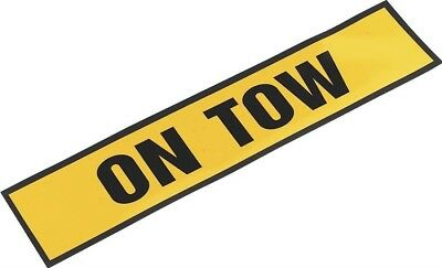 "Sealey Magnetic Sign ""ON TOW"""