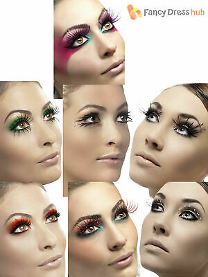 Fever False Fake Eyelashes Lashes Halloween Fancy Dress Costume Accessory
