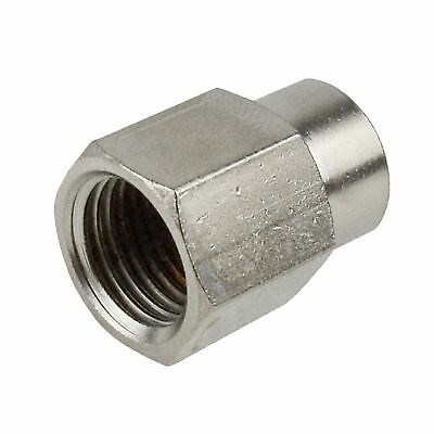 Air Line Hose Fitting Connector Adapter 1/4 inch to 1/8 BSP Female Thread Bush