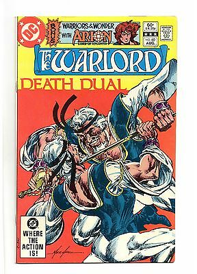 Warlord Vol 1 No 60 Aug 1982 (VFN) DC, Modern Age (1980 - Now) Inc: Arion
