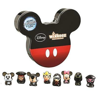 Disney Wikkeez Figures Tin 8 Figure Pack