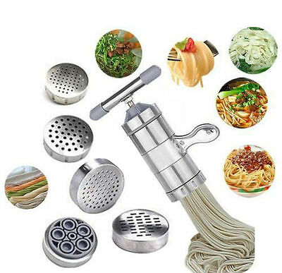 ## Kitchen Stainless Steel Pasta Noodle Maker Press Spaghetti Machine Juicer New