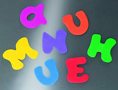 Foam rubber Letters 150St. Crafting fun for children