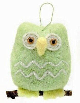felt horses Owl - complete Set Craft kit