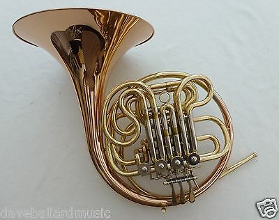 New Full Double Aquae Sulis French Horn with Gold Bell