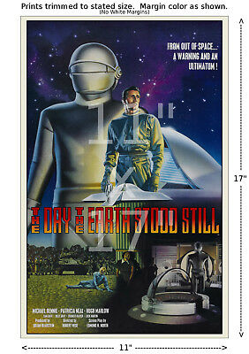 The Day the Earth Stood Still (#2) - Beautiful Film / Movie Poster 11x17 inches