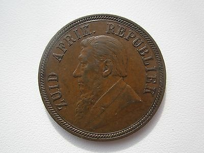 South Africa  1 Penny 1894 Nice