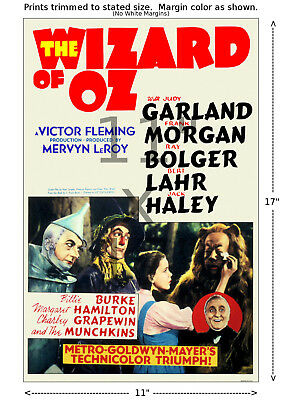 Wizard of Oz #1 - Vintage Film / Movie Poster 11x17 inches