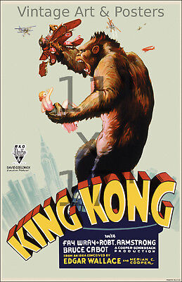 King Kong #1 - Vintage Film / Movie Poster 11x17 inches