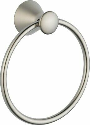 73846-SS Lahara  Bath Towel Ring Stainless Steel Finish