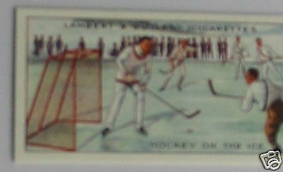 #23 hockey on the ice card