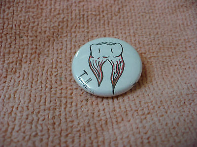 Sx- Molar Tooth    Pin Back  #39184
