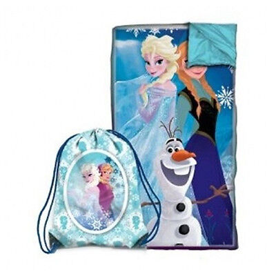 Disney Frozen Slumber Bag Sleeping Bag Sling Set