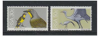 South Africa - 1974 Wildlife (30c & 50c) Birds stamps - MNH - SG 361/2