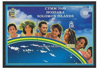 Solomon Islands - 2000 Youth Ministers sheet - MNH - SG MS964