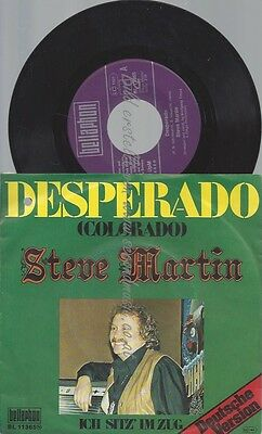 "7""--steve martin--desperado--deutsche version"