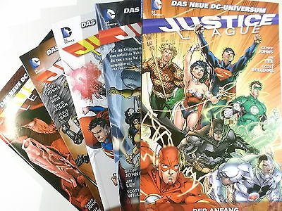 Auswahl= JUSTICE LEAGUE Paperback # 1 - 11 ( PANINI Softcover Hardcover ) NEU