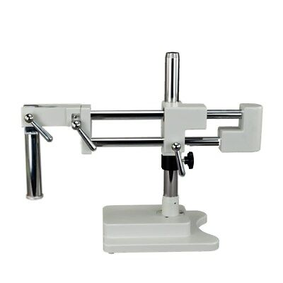 New Stereo Microscope Double-Arm Boom Stand Heavy Duty