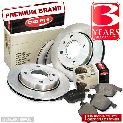 1x Brake Disc Front for JEEP GRAND CHEROKEE 3.0 4.7 5.7 CRD WH WK Delphi