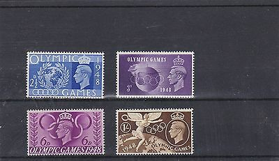GB GEIRGE VI 1948 OLYMPIC GAMES Stamps Set 4v UNMOUNTED MINT SG495-498 REF:A5