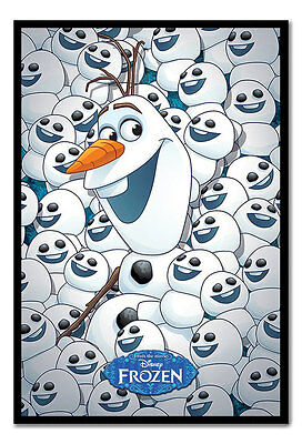Framed Frozen Fever Olaf & Baby Olafs Poster New