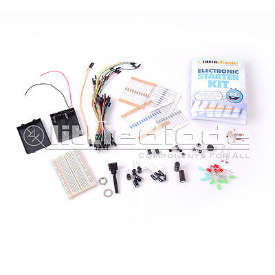Electronic Starter Kit with Instruction Booklet for 10 projects